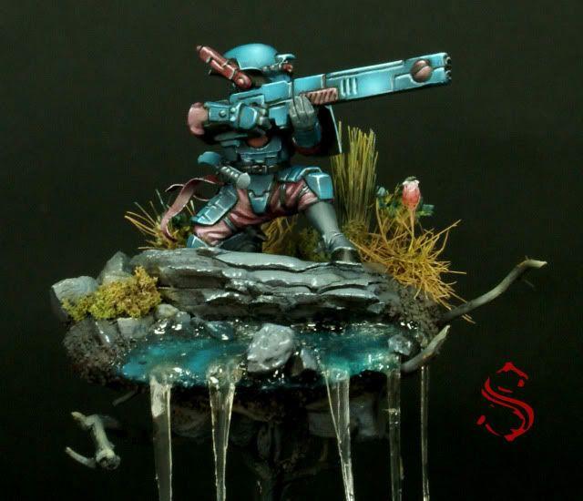 golden+demon | ... - Fire Warrior TAU - Golden Demon Spain 2011 Entry by Surfneil