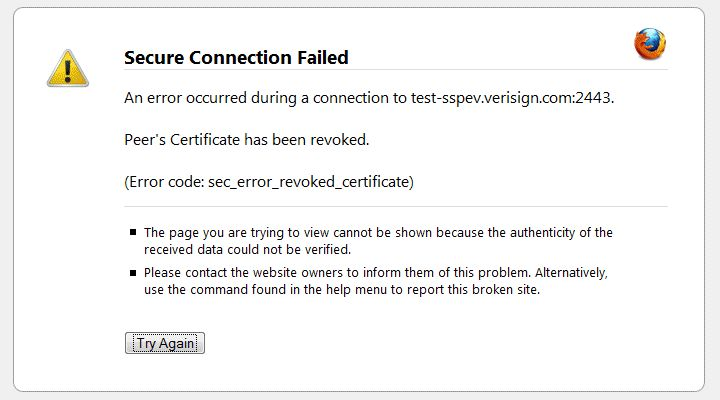 Know How To Fix The ServerS Security Certificate Is Revoked