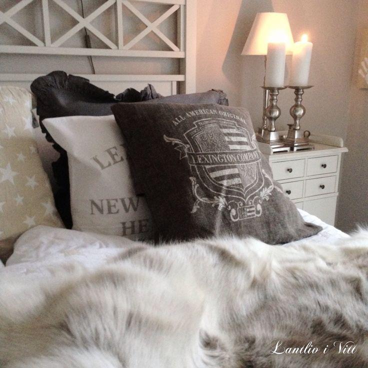 Bedroom ★ Renfäll © Lantliv i Vitt