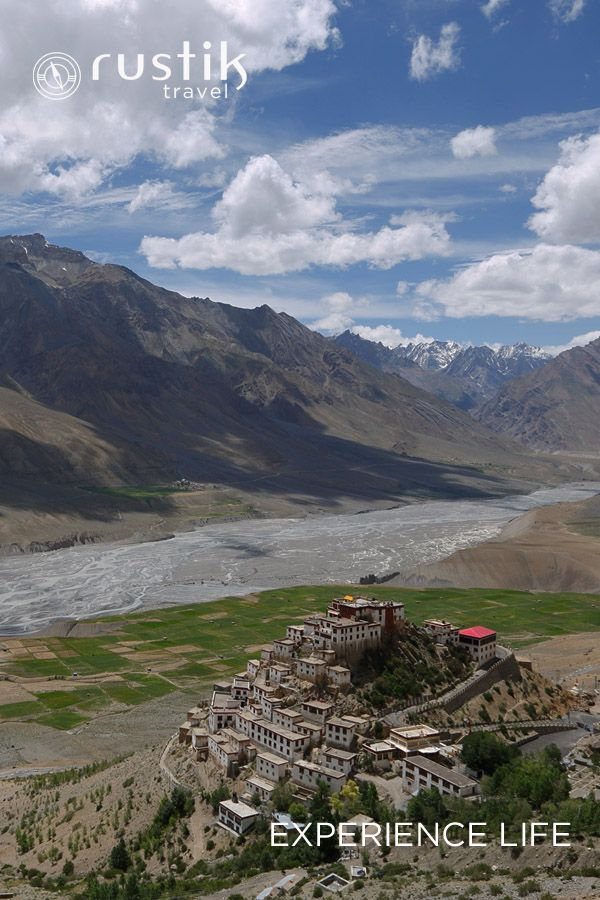 Amid the barren mountains of Spiti Valley, a 1000-year-old Buddhist architectural marvel, the Ki monastery, perched precariously on a steep cliff beside a quietly flowing Spiti River, is bound to fill you with wanderlust. Details on #Spiti tours: http://www.rustiktravel.com/Experiences/exploring-spiti/