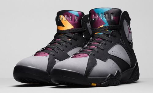 "The ""Bordeaux"" Air Jordan 7 Retro is back for its second re-release. They come…"