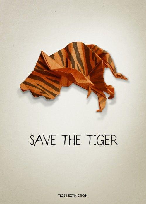 WWF Poster | Save The Tiger, Adrienn Kovacs, Hungary | Regràfica