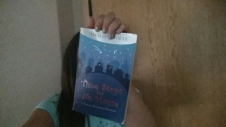 So I've decided to re-read 'Time Stops For No Mouse' by Micheal Hoeye :D Currently reading a book? Comment below what it is and what it's about :)