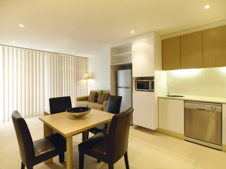 iStay Precinct - 1 bed 405 dining living