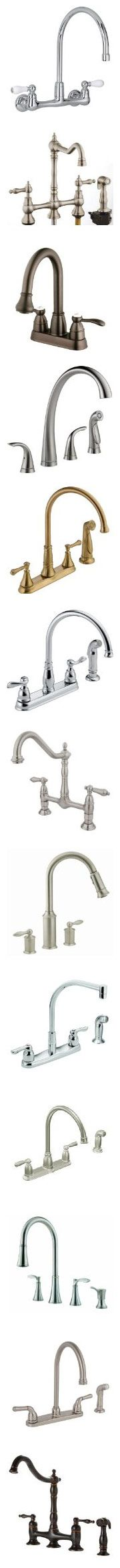 Kitchen Faucet Comparison For Different Type Of Faucets