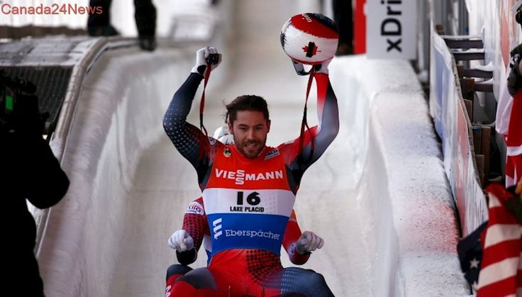 Walker, Snith slide to 1st doubles medal this season at luge World Cup