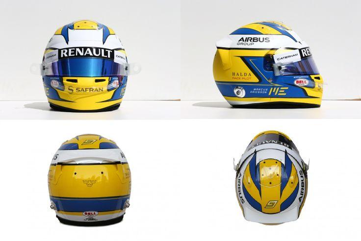 Marcus Ericsson helmet Caterham