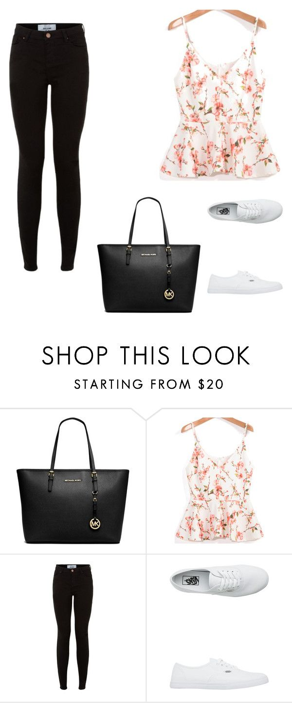 """Untitled #14"" by mariachun on Polyvore featuring Michael Kors and Vans"