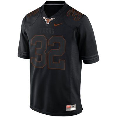 texas longhorn black out jersey | ... : Nike Texas Longhorns 2013 Blackout Game #32 Limited Jersey - Black