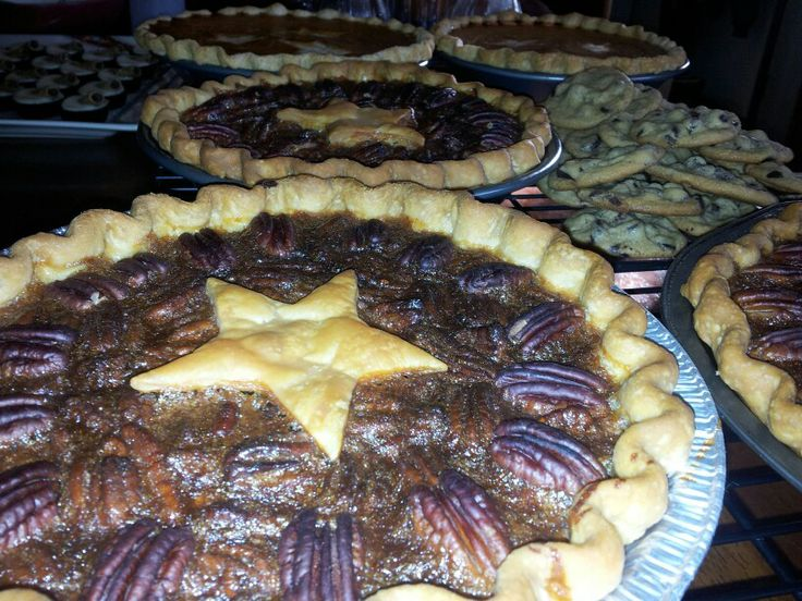 Thanksgiving pies!
