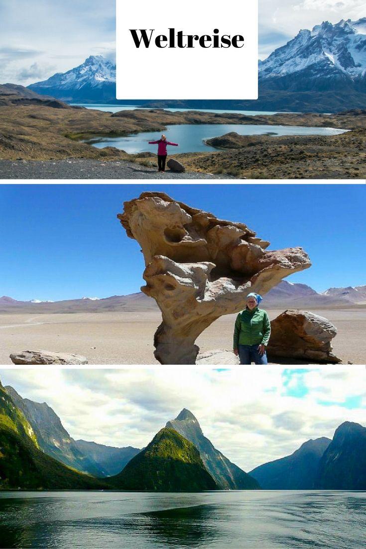 Nationalpark Torres del Paine (Chile), Salar de Uyuni (Bolivien) & Milford Sound (Neuseeland) / Lies auf meinem Reiseblog: 1 Jahr Weltreise - meine Highlights & Erfahrungen aus 14 Ländern