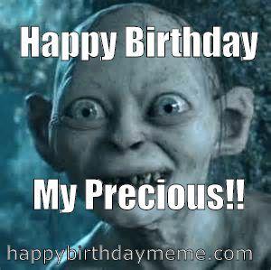 gollum says happy birthday