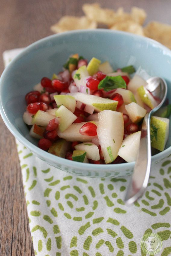 Pomegranate Winter Salsa Recipes — Dishmaps