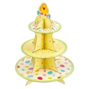 3 Tier Easter Cupcake Stand - Easter Baking - Easter