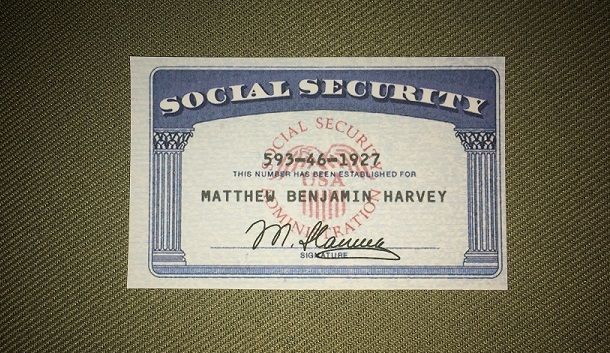 Social Security Card Social Security Number Ssn Ssc Social Security Card Passport Template Passport Online