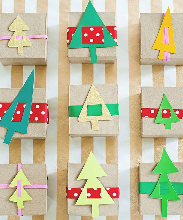 Advent Calendar Preschool : Paper trees advent calendar create pinterest gift
