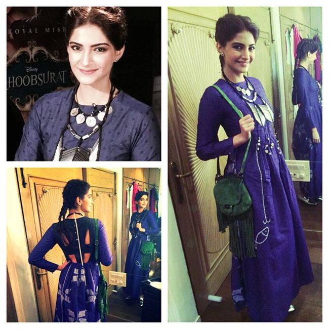 Sonam Kapoor's Khoobsurat fashion diaries. #Bollywood #Fashion #Style #Beauty