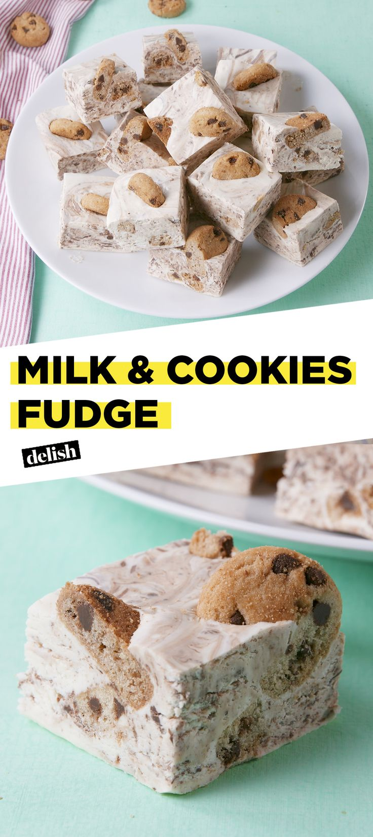 Milk & Cookies Fudge
