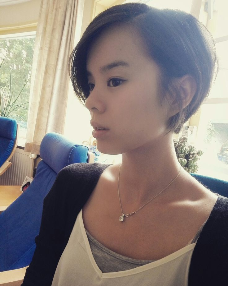 Hairstyles For Short Hair Long : Best 25 asian pixie cut ideas on pinterest long cuts