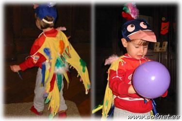 Новогодние костюмы попугай