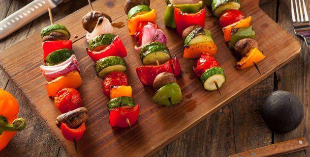 Piccole Ricette – Spiedini vegetariani