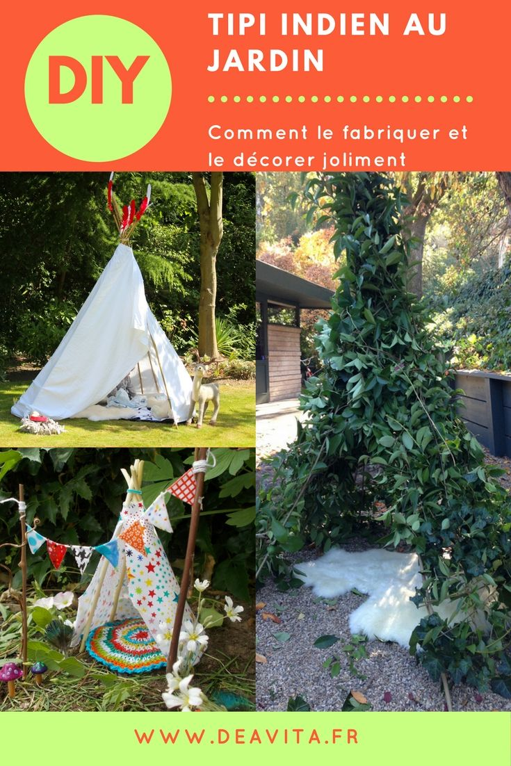 25 best ideas about tipi indien on pinterest tente - Comment faire un tipi ...