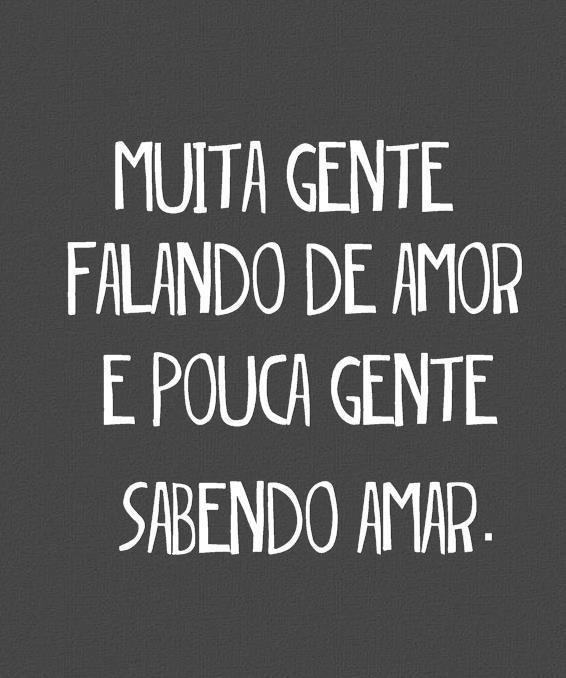 ♥: Gent Sabendo, Muita Gent, Gent Falando, Pouca Gent