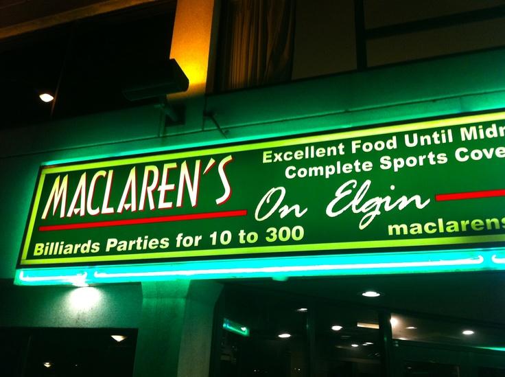 MacLaren's Pub (Elgin Street, Ottawa)