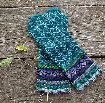 Sea Mineral Mittens - Spilly Jane