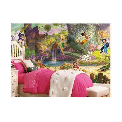 RoomMates Disney Fairies Pixie Hollow Mural - JL1279M