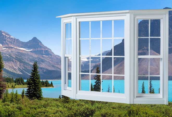 #Bay #bow #aircare #windows are a combination of two or more windows, joined together on an angle will be considered as either an air care (angle), bay window (two angles), or bow window (three or more angles). These types of windows are the least expensive way to make your room feel much larger and brighter.