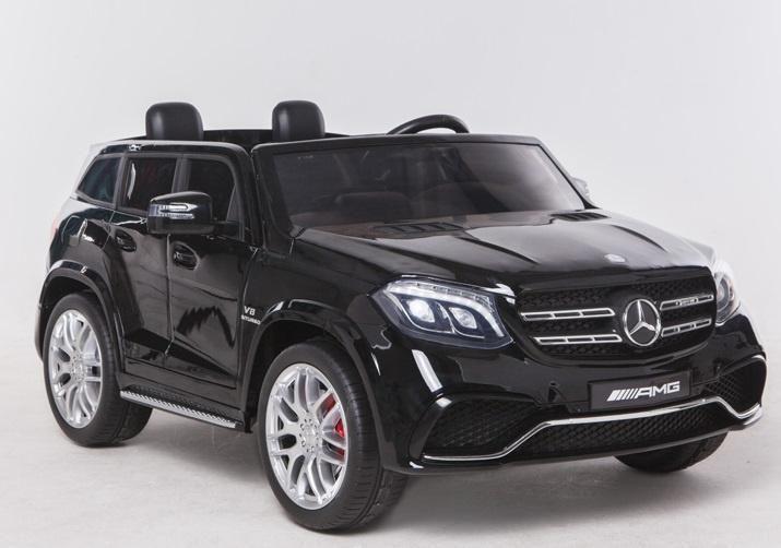Mercedes Benz Gls63 Amg Metallic Zwart 24v 4x4 2 Persoons Kinderauto Kinderauto Speelgoedauto Accuauto Elektrisch