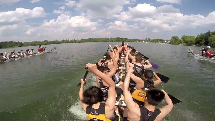 Milton Dragon Boat Race Festival 2016: Race 29 - 500m Grand Final - Iron...