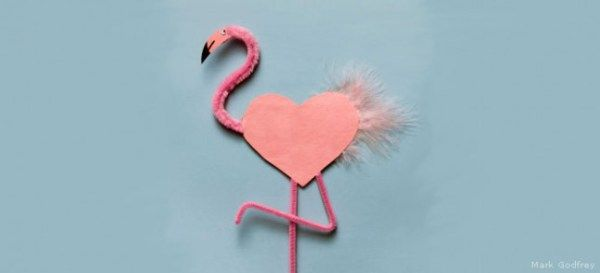 Pink Flamingo craft