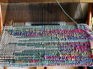 saori weaving...Sampling Blog