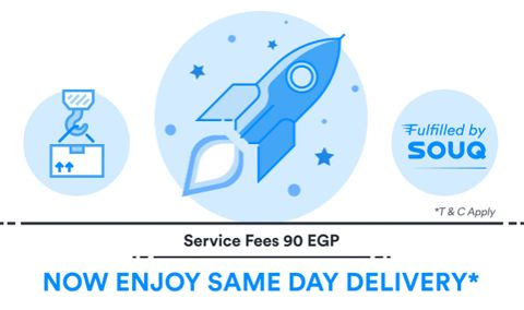 New Offers and Deals: Same Day Delivery at Souq.com Egypt  SHOP NOW  Same Day Delivery at Souq.com Egypt  With Service fee 90 EGP  Click here for more OFFERS in Egypt.  Click here for more WorldwideDEALS.  Souq.com Delivers to your doorstep.  Avoid traffic and parking hassle and SHOP NOW!  http://ift.tt/2xijQLv