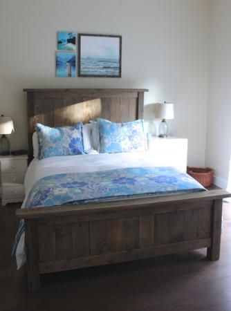 Queen Farmhouse Bed | Do It Yourself Home Projects from Ana White