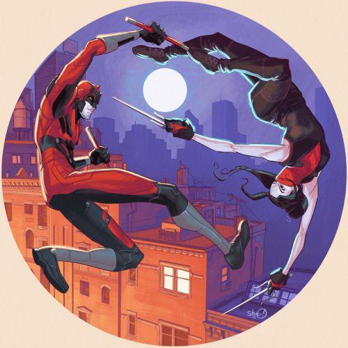 Daredevil & Elektra - Steve Downer