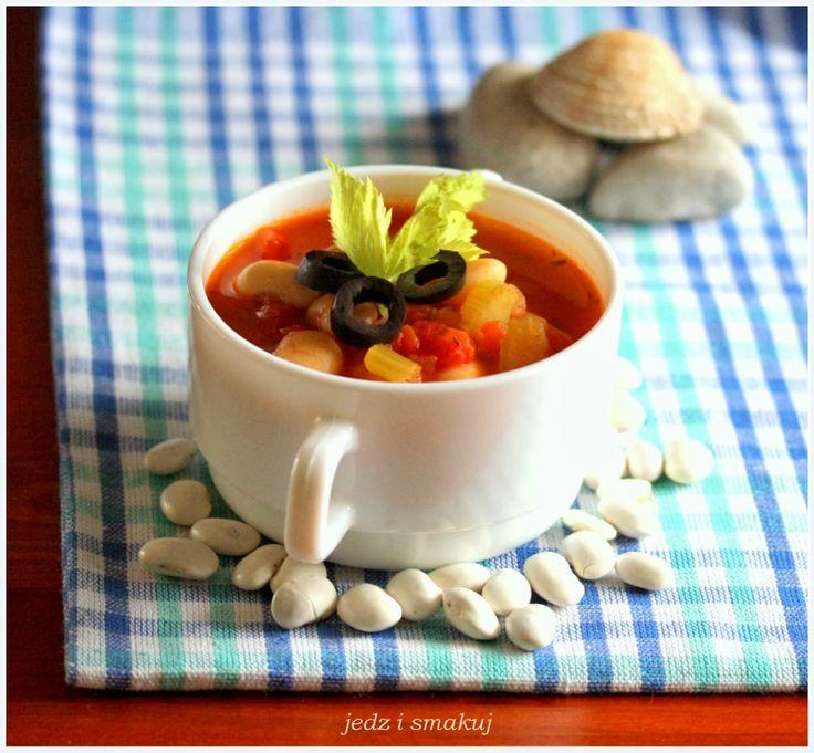 jedz i smakuj: Grecka zupa fasolowa