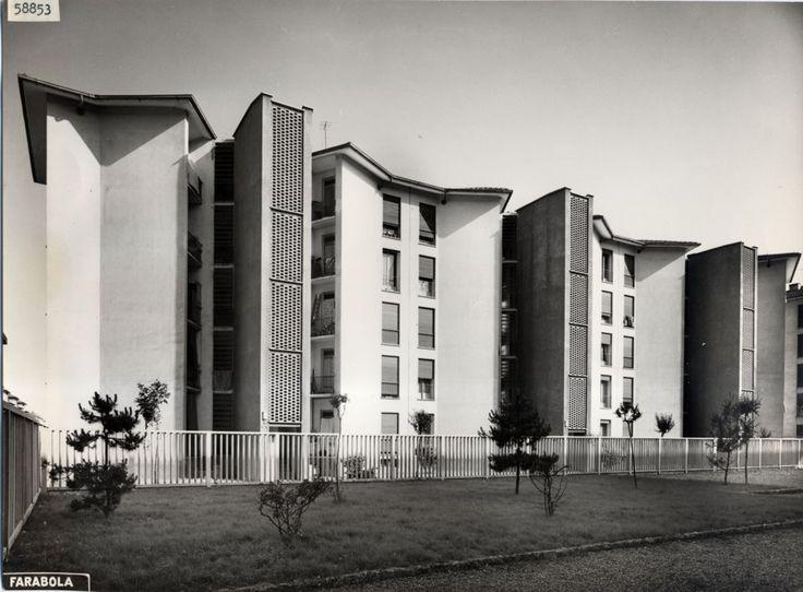 Quartiere Mangiagalli  Milano, Ignazio Gardella e Franco Albini, 1950 - 1952