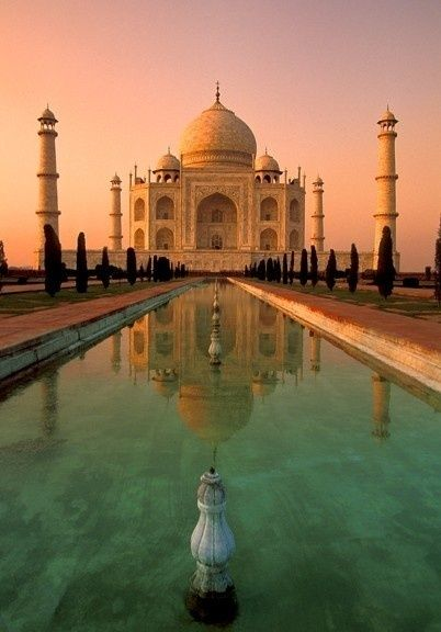 Taj Mahal- I had been here, I tell you guys, this place is truly a magical place. totally breathtaking! You have to experience it personally to know what I am talking about.