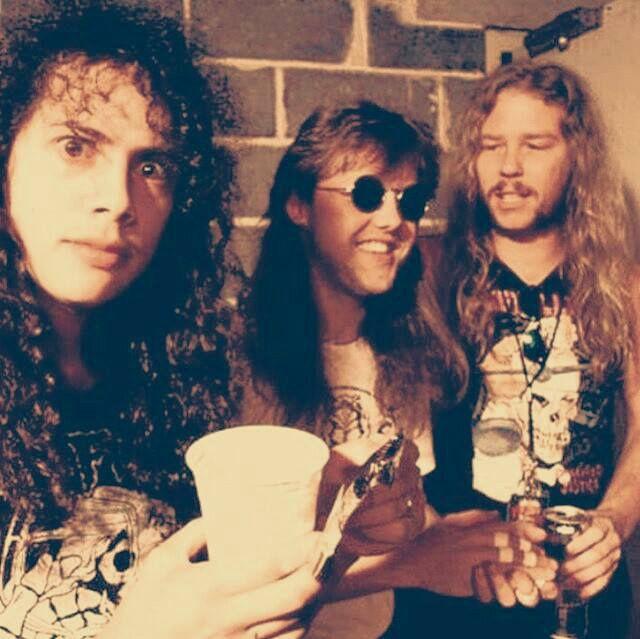 Kirk Hammett, Lars Ulrich & James Hetfield - Metallica.