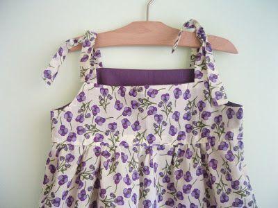 La sciarpa che canta: Cartamodello Vestito bimba per l'estate
