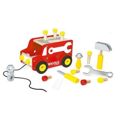 Camion établi Bricolo Redmaster - Janod-J06490