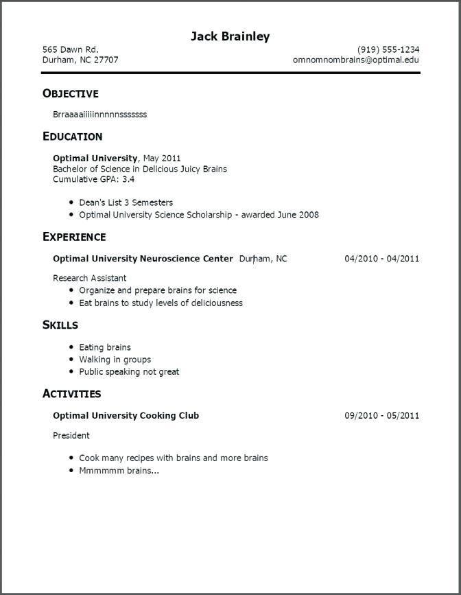 Teenager Job Resume Examples First Job Resume Resume No Experience
