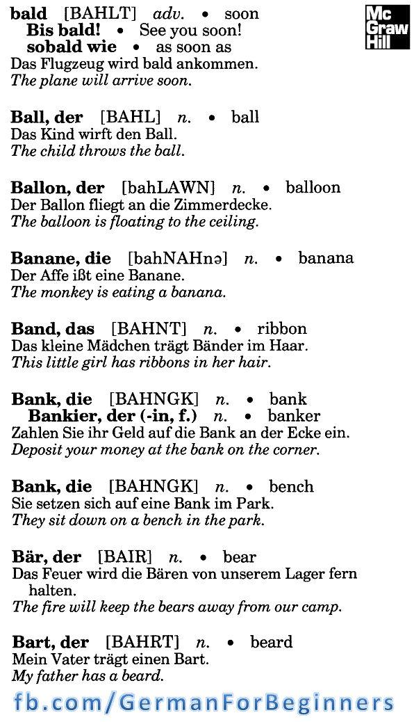 1035 best Deutsch images on Pinterest | German language, Learn ...