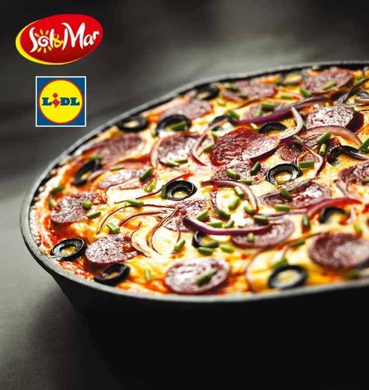 Tortilla z chroizo i serem manchego. Kuchnia Lidla - Lidl Polska. #lidl #solandmar #tortilla #manchego
