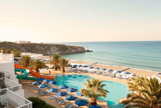 Sunwing Makrigialos Beach in Crete (Greece) http://www.ving.se/grekland/makrigialos/sunwing-makrigialos