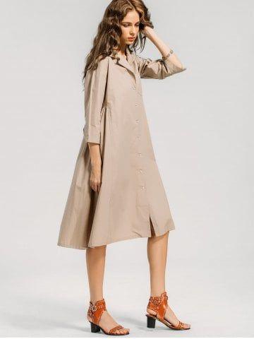 On Up Casual Shirt Dress Inexpensive Dresses Sundresses Women Latest