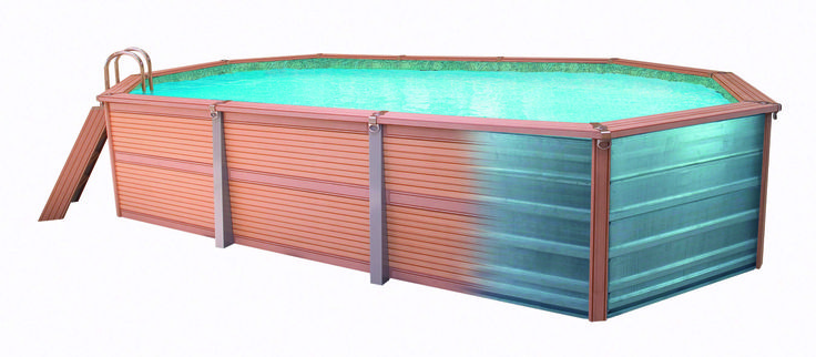 10 best stainless steel pool heater images on pinterest for Swimmingpool verkleidung